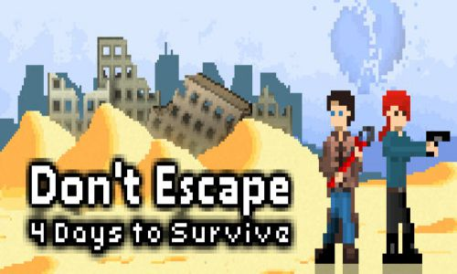 Download Dont Escape 4 Days in a Wasteland Free For PC