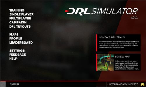Download The Drone Racing League Simulator Highly Compressed