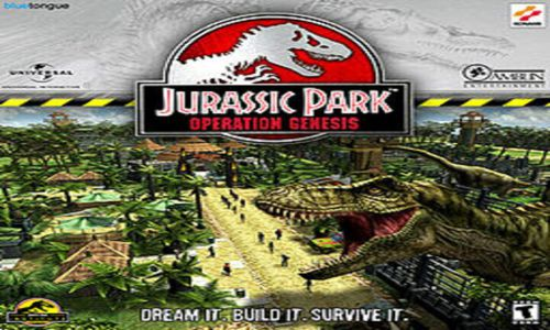 Jurassic Park Operation Genesis Game Download Free For PC Full Version